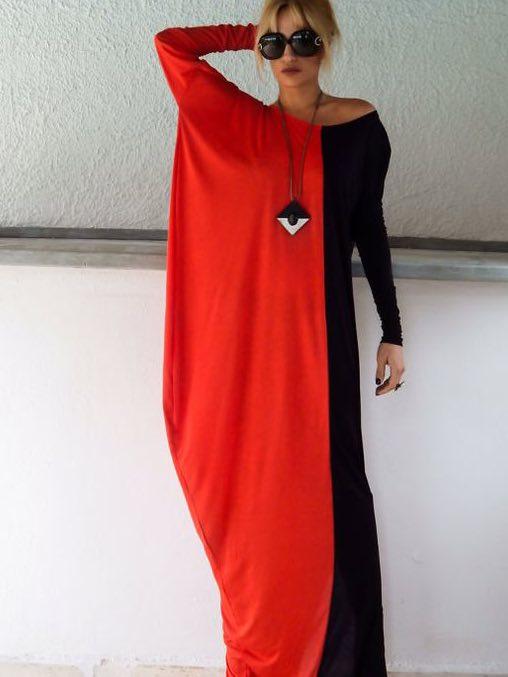 Трикотажное платье учим шить