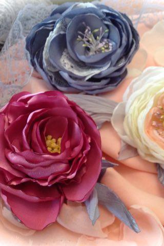 цветы из ткани мастер-класс